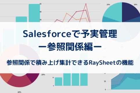 SalesforceとRaySheetの組合せで予実管理を実現!ー参照関係編ー
